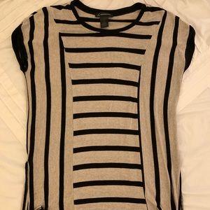 I.N.C. Women's short sleeved striped sweater